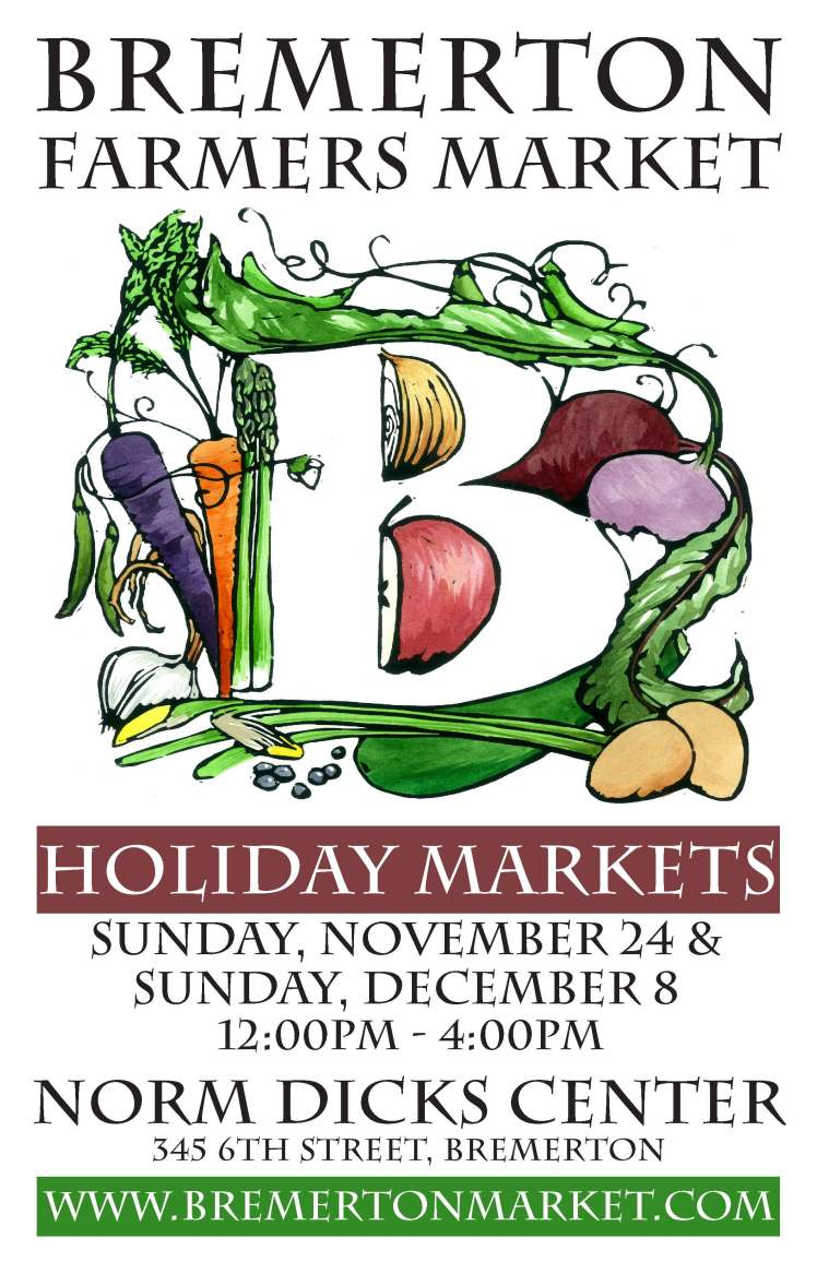 2013 Holiday Market Poster
