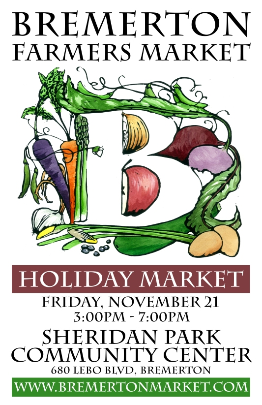 2014 Holiday Market Poster