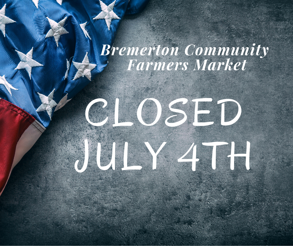 Closed on the 4th of July